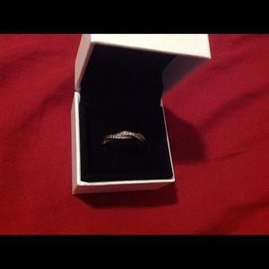 Pandora Rose Gold Ring Size 8.5